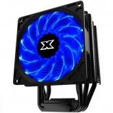 Xigmatek Windpower WP964 EN42357 Intel: LGA 2066/2011-v3/2011/1366/115x; AMD: AM4/AM3+/AM3/AM2/FM2+/FM2/FM1, TDP 140W, 4 Heatpipes HDT, 90mm Blue 12 LED PWM Fan