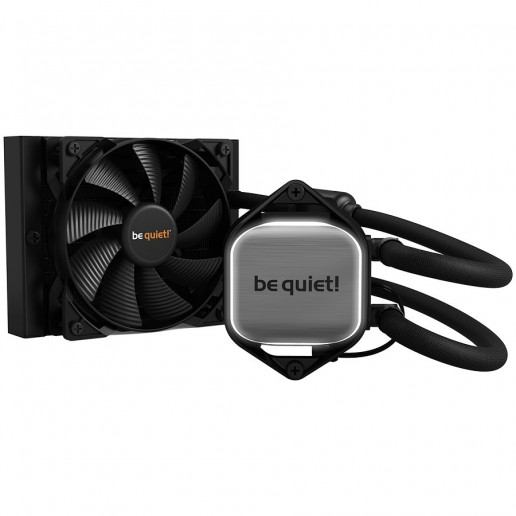 be quiet! Pure Loop 120mm, Intel 1200 / 2066 / 1150 / 1151 / 1155 / 2011(-3) square ILM; AMD: AM4 / AM3(+) Pure Wings 2 120mm PWM fan, White LED illumination, 3 years waranty