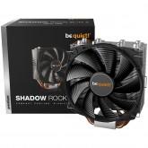 be quiet! SHADOW ROCK SLIM 2, 160 TDP, Intel: 1200 / 2066 / 1150 / 1151 / 1155 / 2011(-3) Square ILM, AMD: AM4 / AM3(+), FAN 135mm 4-pin PWM