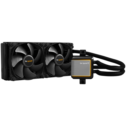 be quiet! SILENT LOOP 2 240mm, Intel: 1200 / 2066 / 1150 / 1151 / 1155 / 2011(-3) Square ILM; AMD: AM4 / AM3(+), sTRX4 / TR4 (optional, mounting-kit (BZ008)), ARGB LEDs, Silent Wings 3, 3-year warranty