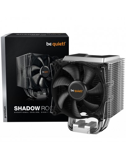 be quiet! Shadow Rock 3, Intel: 1200 / 2066 / 1150 / 1151 / 1155 / 2011(-3) Square ILM, AMD: AM4 / AM3(+), 1x Shadow Wings 2 120mm PWM high-speed, Heat pipe direct touch, TDP (W): 190, 3 years warranty