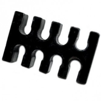 8p acrylic cable holder black