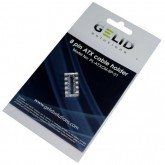 8p acrylic cable holder white/transparent