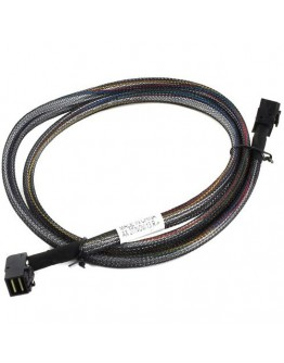 ADAPTEC PMC, Internal Cable 12Gb/s Right-angle mini-SAS HD x4 (SFF-8643) to mini-SAS HD x4 (SFF-8643), 1m, used for connecting a Series 7 adapter to a 6Gb/s SAS/SATA backplane, Retail, 2282800-R