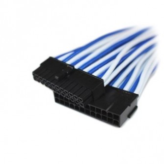 GELID 24pin Power extension cable 30cm individually sleeved Blue/White