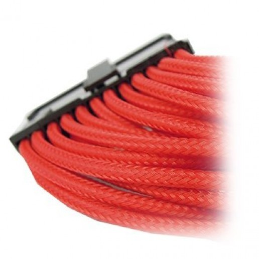 GELID 24pin Power extension cable 30cm individually sleeved RED