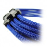 GELID 8pin Power extension cable 30cm individually sleeved Blue