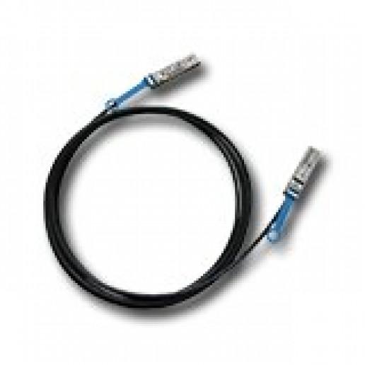 Мрежов кабел INTEL (SFP+ (Male) - SFP+ (Male), 1m) Черен