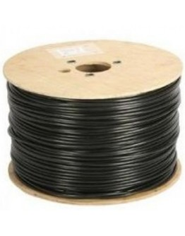 RG59+2C Power cable: (0.81mm CU+FPE+Al Foil+64*0.12mm CU braiding)+(2C 0.75mm2=24*0.2mm CCA powercable)+ White PVC JACKET with UV protection,305m