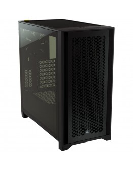 CORSAIR 4000D AIRFLOW Tempered Glass Mid-Tower ATX Case — Black