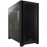 CORSAIR 4000D Tempered Glass Mid-Tower ATX Case — Black