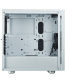 CORSAIR Carbide Series 275R Tempered Glass Mid-Tower Gaming Case — White
