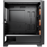 COUGAR Dark Blader X5 RGB, Mid-Tower, Mini ITX/Micro ATX/ATX/CEB/E-ATX, 220x486x468(mm), Type C 3.1x1, USB 3.0x2, Mic x1/Audio x1, RGB Button, 4mm TG Transparent Left Panel, ARGB VK120 Front fans x 3 pre-installed, Onboard Lighting System, RGB Sync
