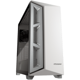 COUGAR Dark Blader X5 White, Mid-Tower, Mini ITX / Micro ATX / ATX / CEB / E-ATX, 220 x 486 x 468 (mm), USB 3.0 x 1, USB 2.0 x 2, Mic x 1 / Audio x 1, Reset Button, Transparent Left Panel, 120mm x 1 (Black Rear fan x 1 pre-installed)