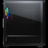 COUGAR Dark Blader X7 Black, Mid-Tower, Mini ITX/Micro ATX/ATX/CEB/E-ATX, 220x486x468(mm), USB 3.0 x 2, USB 2.0 x 1, Mic x1/Audio x1, RGB Button, Transparent Left Panel, ARGB VK120 Rear fan x 1 pre-installed, Onboard Lighting System, RGB Sync. w/ M/B