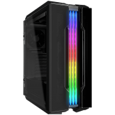 COUGAR GEMINI T Pro, Mid Tower, MiniITX/MicroATX/ATX/CEB, 227x535x527(mm), USB 3.1 Type-C x 1 / USB3.0 x 2, Mic x 1 / Audio x 1, RGB Control Button, ARGB Front & Top Panel, 120mm Front & Rear x 1 fans pre-installed), 4mm Tempered Glass Side Panels