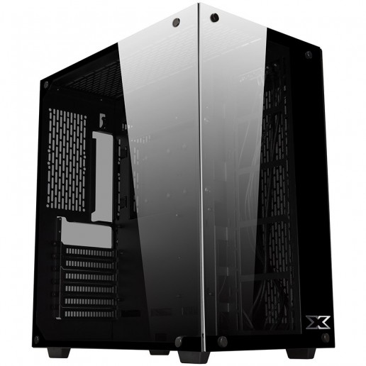 Chassis AQUARIUS EN41770 Two Panel Front and Lest Side Tempered Glass, ATX, Micro ATX, Mini ITX, CPU Cooler up to 135mm, VGA Cooler up to 360mm, Liquid Cooling Compatible
