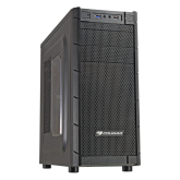 Chassis COUGAR ARCHON-V, Middle Tower, Micro ATX/ATX, Dimension(WxHxD)-195x430x480(mm), Max. Graphic cards length-310 mm, Max. CPU cooler height-165mm,USB 3.0 x1 / USB 2.0 x1 / HD audio