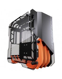 Chassis COUGAR Blazer Essence, Mid-Tower, Mini-ITX / Micro ATX / ATX, 236x472x528 (mm), USB3.0 x 2, Mic x 1 / Audio x 1, Reset Button, 4mm Tempered Glass Side Panel(Both Sides), PSU - Standard ATX PS2, Maximum Number of Fans: 4, Water Cooling Support