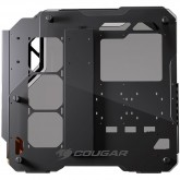 Chassis COUGAR Blazer, Mid Tower, Aluminum Framing Design, Mini ITX/Micro ATX/ATX/CEB, USB3.0 x2, Mic x1/ Audio x1, Reset Button, Tempered Glass Side Panel Both Sides 5mm, Dimensions (WxHxD): 226 x 535 x 560 (mm)