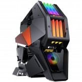 Chassis COUGAR CONQUER II, Full Tower, Mini ITX/Micro ATX/ATX/CEB, USB 3.1 Type-Cx1/USB3.0x2/Micx1/Audiox1/Power button/RGB control button, COUGAR RGB fanx1 pre-installed, Sync. with M/B, Dimensions (WxHxD):368 x 631 x 744(mm)