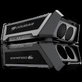 Chassis COUGAR Gemini X, Dual Tower,Primary - Mini ITX / Micro ATX / ATX / CEB, USB 3.1 Gen2 Type-C x1 / USB3.0 x 2/ Mic x 1 / Audio x 1,PSU- Standard ATX PS2,Secondary - Mini ITX,USB 3.1 Gen2 Type-C x1 / USB3.0 x 2/ Mic x 1 / Audio x 1,PSU-SFX