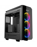 Chassis COUGAR PURITAS RGB Middle Tower,Mini ITX/Micro ATX/ATX, Dimension (WxHxD) 218x520x490(mm), Max. Graphics Card Length 425mm, Max. CPU Cooler Height 160mm, Water Cooling Support, USB3.0x2/Micx1/Audiox1/Fan Controller, CM, Fan Speed Control