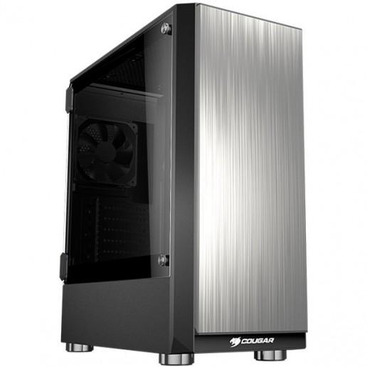 Chassis COUGAR Trofeo, Middle Tower, Mini ITX / Micro ATX / ATX / E-ATX, Dimension (WxHxD), 205 x 490 x 440 (mm), USB3.0 x 2 / USB2.0 x 1 / Mic x 1 / Audio x 1, Standard ATX PS2
