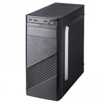 "Chassis FC-F61A, ATX, 7 slots, 2 X 5.25"", 3 X 3.5"" H.D., 2 X 2.5"", 1 x USB 3.0, 2 X USB2.0 / 2 x AUDIO /, PSU 550W 12 sm, 20+4pin, 2 x IDE, 3 x SATA, Black"