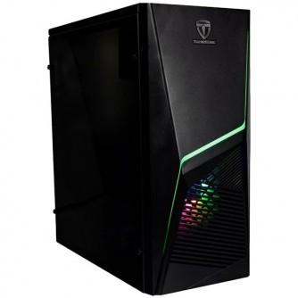 """Chassis FLASH FC-FL12 , ATX, 7 slots, 2 X 3.5"""" H.D., 2 X 2.5"""", 1 x USB 3.0, 2 X USB2.0 / 1 x HD AUDIO /, WO PSU  /1 x 12cm/1 x 8cm Black"""
