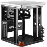 Chassis Nebula C_ EN6329, Mini ITX, USB 3.0 x 2, Pre-install 120mm fan x 1, CPU Cooler height up to 80mm, VGA up to 230mm, Expansion slots x 2, white