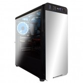 Chassis REFRACT S1 EN9627 (TEMPERED DESIGN) E-ATX, ATX , Mini ITX, Micro ATX) USB 3.0x1, USB 2.0x2, HD Audio in/out jacks, Pre-install 120mm x 4 (SE IIBlue LED), Liquid Cooling Compatible, CPU Cooler up to 159mm, VGA up to 330mm
