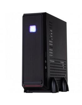 E-mini 3019 Black/Silver, 120W DC/DC + 12V/5A adapter, Mini-ITX chassis