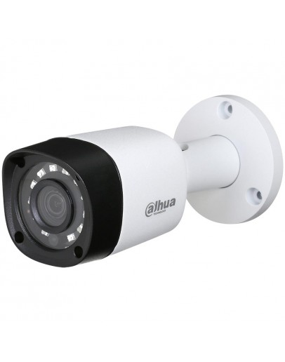 """Dahua HD-CVI Bullet camera 2MP, Day&Night, 1/2.7"""" CMOS, 1920×1080 Effective Pixels, 30fps@1080P, Focal Length 2.8 mm, 0.02Lux/F1.85, 0Lux IR on, IP67, DC12V/3.3W, outdoor installation."""