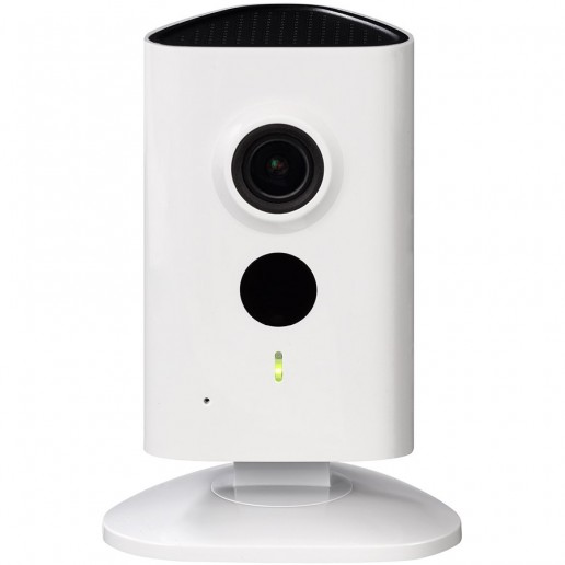 Dahua IP Wi-Fi camera 3MP C series, 1/3 CMOS, 2304×1296 Effective Pixels (20fps), Focal Length 2.3mm, H264 dual stream, 0.9Lux/F2.2 (Color), 0Lux/F2.2 (IR on), IR distance up to 10 m, Micro SD card slot, up to 128GB, DC5V1A.