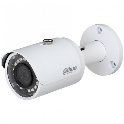 Dahua IP camera 1.3MPix, Water-proof, Day&Night, 1/3 CMOS, 1280×960 Effective Pixels, 25/30fps@720P, Focal Length 2.8mm, 0.5Lux/F2.5, 0Lux IR on, IP67, PoE, Outdoor installation