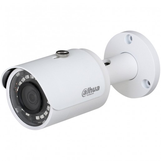 Dahua IP camera 4MP Bullet, Day&Night, 1/3 CMOS, 2688×1520 Effective Pixels, 20fps@1520P, Focal Length 2.8mm, 104°, IR Distance up to 30m, 0.08Lux/F2.0 Colour, 0Lux/F2.0 IR on, IP67 outdoor installation, PoE, 4.3W