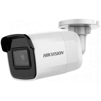 """Hikvision 2 MP IP Fixed Bullet camera Water-prof, 1/2.8"""" CMOS, 1920?1080 Effective Pixels, H.265+, 25fps@1080P, Focal Length 4mm, 86° view angle, Max IR 30m, 0.01Lux/F1.2, 0.028Lux/F2.0 IR on, micro SD card up to 128GB, DC12V, PoE 5.5W, IP67."""
