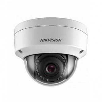 """Hikvision 2 MP IP Fixed Dome camera Water-prof, 1/2.8"""" CMOS, 1920?1080 Effective Pixels, H.265+, 25fps@1080P, Focal Length 2.8mm (115° view angle), Max IR 30m, 0.028Lux/F2.0 IR on, micro SD card up to 128GB, DC12V, PoE 5W, IP67."""