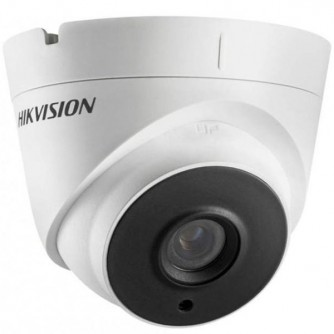 """Hikvision 4MP IP Turret camera, H265+ 1/3"""" progressive CMOS, 2560x1440 Effective Pixels, 20fps@1440P, Focal Length 2.8mm (100° view angle), 0.01Lux@(F1.2,AGC ON),0 Lux with IR on, Max IR Range up to 40m, IP67, DC12V, PoE 7W, Outdoor installation."""