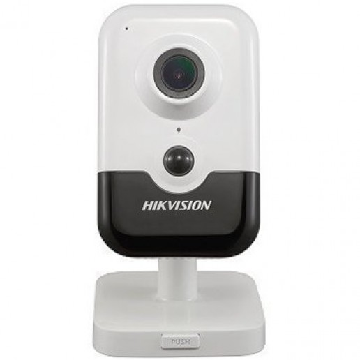 Hikvision IP Wi-Fi camera 2MP, 1/2.7 CMOS, 1920×1080 Effective Pixels (30fps), Focal Length 2.8mm, H265+, 0.01Lux/F1.2 (Color), 0Lux/F2.0 (IR on), IR distance up to 10 m, Micro SD card slot, up to 128GB, DC5V0.5A, 6W