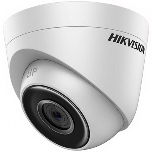 Hikvision IP camera 1MP, Turret, H.264, 1/4 CMOS, 1280?720 Effective Pixels, 25fps@720P, Focal Length 2.8mm, Max IR LEDs length 30m, 0.01Lux/F1.2, 0Lux IR on, IP67, DC12V, PoE, 4/5W, Outdoor installation.