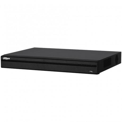 Dahua 16-channel + 8 IP camera, Penta-bride HCVR 1080P, H.265+, 1xVGA, 1xHDMI, 1xSATA (up to 10TB), 2xUSB 2.0, 1xRS485, 1xAudio, support, Web Server, DC12V/2A, 10W, Without HDD
