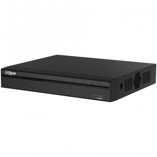 Dahua 16-channel compact 1U 4K NVR, H.265+, Max 80Mbps incom. bandwidth, 1x RJ-45, 1xSATA up to 6TB, 2xUSB 2.0, 1xVGA, 1xHDMI, 1xAudio two-way talk, DC12V,2A, <6.3W, Without HDD