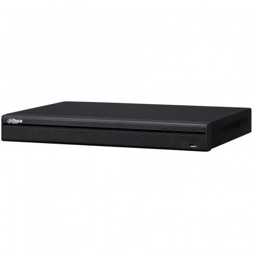 Dahua 32-channel NVR, Resolution 3840x2160, H.265, MJPEG/ MPEG4, max incom. bandwidth 320 Mbps, 2xSATA (12 TB), 2xUSB, 1xVGA, 1xHDMI, 1xAudio support, PTZ, Web server, DC12V, 4A, <10W, Without HDD