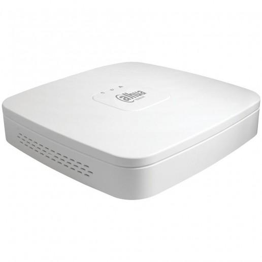Dahua 8-channel HCVR + 4 IP, H.265+/H.265, 1080P, 1xRJ-45, 1xSATA (up to 10TB), 2xUSB2.0, 1xVGA, 1xHDMI,1xAudio, Max 48Mbps incom bandwidth, DC12V/2A, 10W, Without HDD
