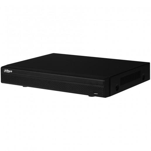 Dahua 8-channel Tribrid HCVR, 720P (25 fps), H.264, 1xVGA, 1xHDMI, 1xSATA (up to 6TB), 2xUSB 2.0, 1xRS485, 8 Audio channel in/1 Audio out, 8 Alarm chanel in/ 3 Alarm chanel out, support Web Server, DC12V/2A, Power consumption 10W (w/o HDD).