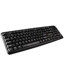 CANYON Wired Keyboard, 104 keys, USB2.0, Black, cable length 1.3m, 443*145*24mm, 0.37kg, Bulgarian