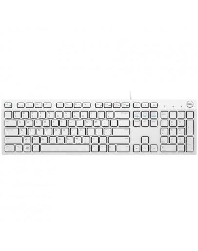 Dell Multimedia Keyboard-KB216 - US International (QWERTY) - White