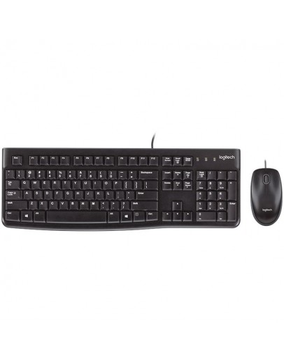 LOGITECH Corded Desktop MK120 - EER - US International layout_